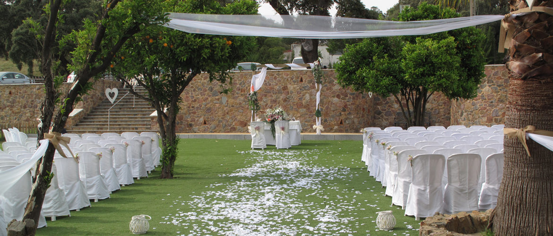 Hacienda San Jeronimo boda en Aracena